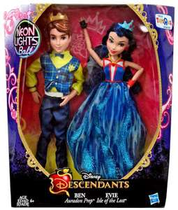 "Disney Descendants Neon Lights 2-Pack Evie Isle of the Lost and Ben Auradon Prep Dolls was £17.48 now £9.96 / DC Super Hero Girls 6"" Figure 6 Pack was £69.99 Then £39.99 now £19.96 @ Toys R Us"