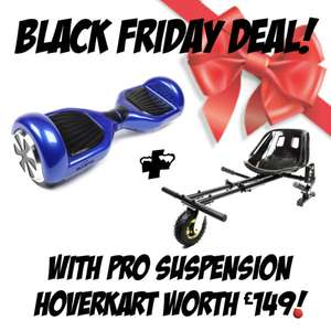 Hoverboard/Swegway + Pro Suspension Kart at Bluefin Trading for £237.72
