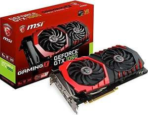 MSI GeForce GTX 1060 GAMING X - 6GB   £249.99 @ Amazon