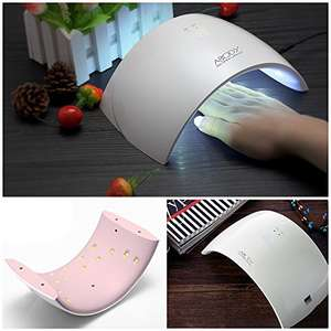 Save 40% on this Abody LED UV Nail lamp - Only £11.39 prime / £15.38 non prime Sold by OrchardRoad and Fulfilled by Amazon!