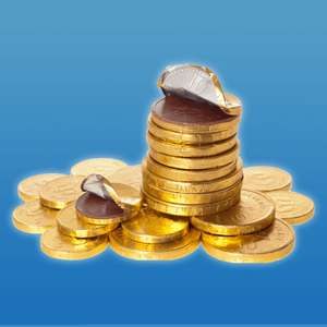 FREE a bag of Christmas chocolate coin at WHSmith with O2 priority app.