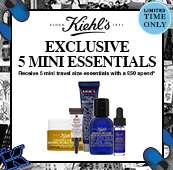 Kiehl's Black Friday Week - Spend £50 Get 5 Deluxe Samples‎