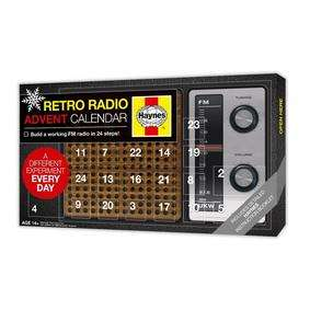 Build an FM radio advent Calendar £14.99 @ Maplin