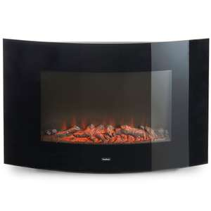 VonHaus 2000W Curved Glass Panel Heater with Remote Control + 2 year warranty rrp £124.99 now £54.99 Delivered @ Domu