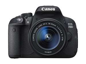 Canon EOS 700D Digital SLR Camera (with 18-55 mm f/3.5-5.6 IS STM Lens) £389.99 Prime Exclusive @ Amazon
