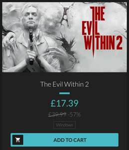 The Evil Within 2 (PC - Steam) £17.39 at Fanatical