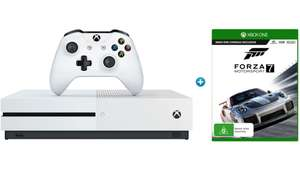 Buy a selected Xbox One S and get Forza 7 free, plus either Star Wars Battlefront II, FIFA 18 or Destiny 2 for £219.99 @ Argos
