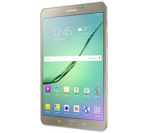 Samsung Tab S2 8 Inch 32GB Tablet - Gold + 3% Quidco £229.99 @ Argos