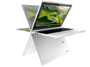 Acer Chromebook R11 (CB5-132T) 2-in-1 with Google Play - 4GB RAM Version, Touchscreen IPS Gorilla Glass, Patterned Aluminium Cover, Fast wireless, HDR Webcam, 10 Hrs Battery Life £197.99 @ Very UK