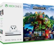 Microsoft Store Xbox Black Friday Deals - Xbox One S bundles from £189 / 1TB £229 - Including Xbox One S 500GB Console – Minecraft Complete Adventure Bundle + 3 games - Only £199.99 / Xbox One S 1TB Console - Halo Wars 2 Bundle + 2 games  £229.99