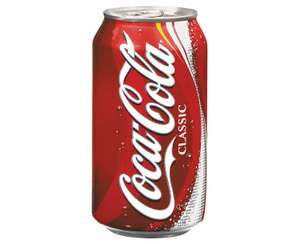 24x330ml cans of Coca-Cola - £4.50 instore @ Morrisons