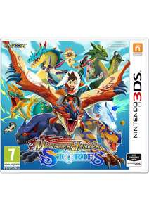 Monster Hunter Stories / Kirby Battle Royale / Mario & Luigi Super Star Saga + Bowsers Minions - £19.99 each @ Simply Games
