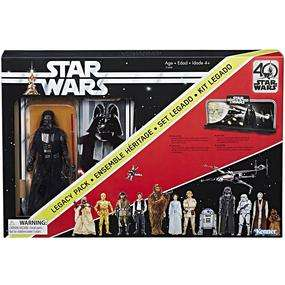 Forbidden Planet Black Friday Deal £29.99 RRP £49.99 Star Wars Black Series 40th Anniversary Legacy Pack