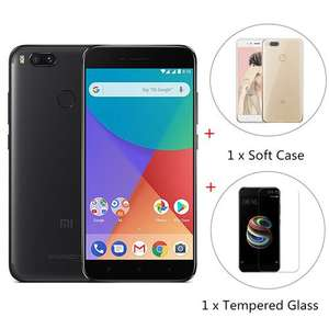 Xiaomi Mi A1 32GB Global Version w/ Case and Tempered Glass £141.31 @ Geekbuying