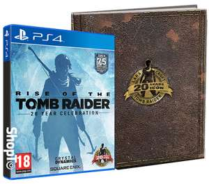Rise of the Tomb Raider 20 Year Celebration Artbook Edition (PS4) £16.85 Delivered @ Shopto