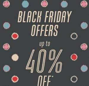 Cath Kidston Black Friday sale has started. Up to 40% off!