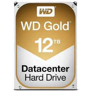 WD Gold 12TB Datacentre HDD £365.32 @ Ebuyer