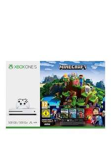 Xbox One S 500Gb Console Minecraft Complete Adventure Bundle + 3 Months Xbox Live Gold with Optional Extra Controller and/or Extra 12 Months Gold £169.99 @ Very