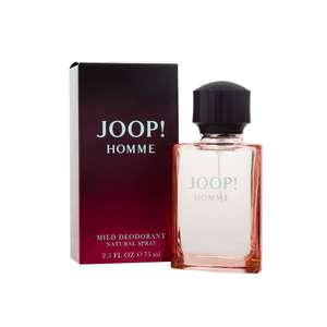 Joop Homme 75ml deodorant spray for men £8 C+C @ Wilko (£10 - £17 elsewhere)