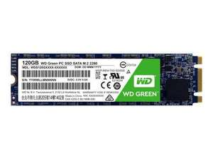 WD 120GB Green M.2 2280 SATA 6Gb/s SSD (currently cheaper than amazon's £45.79) @ BTShop