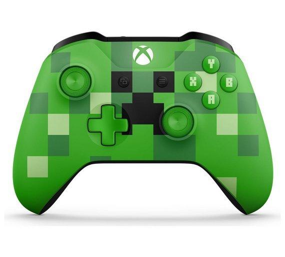 Xbox One Minecraft Creeper Controller - Green - £45.99 @ Argos