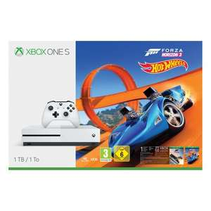 1TB Xbox One S & Forza + Hotwheels bundle (Click & collect only) @ Smyths