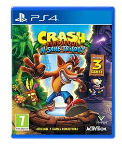 Crash Bandicoot N. Sane Trilogy (PS4) @ Amazon £22.99