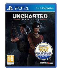 Uncharted: The Lost Legacy (Includes free download of That's You) - PS4 £14.99 Prime / £16.98 Non Prime @ Amazon