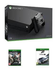 Xbox one X and forza 7 and gears of war 4 £449.99 @ game
