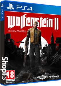 Wolfenstein II: The New Colossus + The Freedom Chronicles: Episode Zero! DLC (PS4/XB1) - £19.85 @ ShopTo