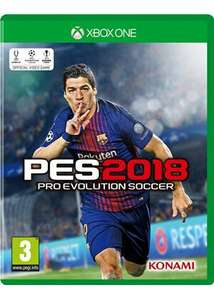 PES (Pro Evolution Soccer) 2018 Xbox one & PS4 - £24.99 @ Base