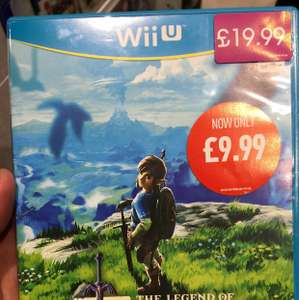 Legend of Zelda: Breath of the Wild (Wii u) £9.99 instore @ GAME metrocentre