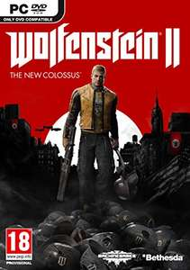 Wolfenstein 2: The New Colossus PC DVD £16.46 @ Amazon Prime (£19.45 non Prime)