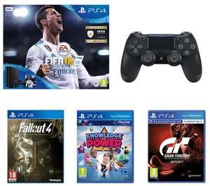 SONY PlayStation 4 Slim, extra Controller fifa 18 fallout 4 gran turismo knowledge is power £229 @ Currys