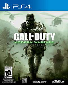 Call of Duty Modern Warfare: Remastered @ GAME for £17.99