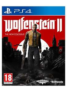 Wolfenstein 2 The New Colossus Ps4 at Amazon for £22.50