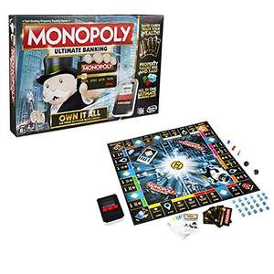 Monopoly ultimate banking - amazon for £17.80 Prime (£22.79 non-Prime)
