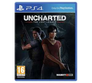 Uncharted: the Lost Legacy PS4 £12.99 @ Argos