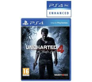 Uncharted 4 / Last Of Us Remastered / Uncharted Nathan Drake Collection / The Last Guardian £12.99 Horizon Zero Dawn £18.99 @ Argos