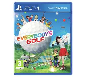 Everybody's Golf / Uncharted 4 (PS4) £12.99 each @ Argos