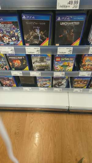 Call of Duty Infinity Warfare £5 ps4 and Xo - instore @ Asda Living Trinity Walk Wakefield
