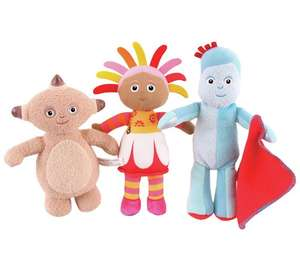 In the night garden cuddly soft toys NOW ONLY £2.99 at Argos