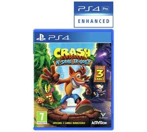 Crash Bandicoot N.Sane Trilogy PS4 @ Argos
