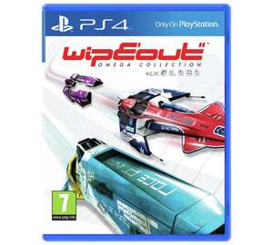 Wipeout Omega Collection (PS4) £12.99 / Final Fantasy Zodiac Age (PS4) £15.49 @ Argos