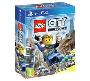 Lego City Undercover with Minifigure Ps4/xbox one @ argos