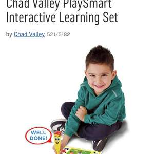 Chad Valley PlaySmart Interactive Learning Set £7.49 @ Argos