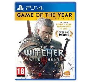 The Witcher 3: Wild Hunt Game of the Year Edition PS4 and XBOX ONE - £16.99 @ Argos