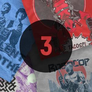 3 Geek T-Shirts Lucky Dip £11.99 @ zavvi