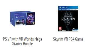 Playstation VR starter pack with skyrim £239.99 Argos