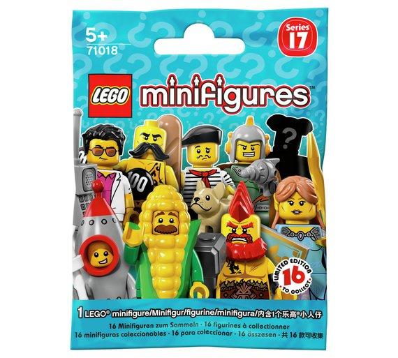 LEGO Minifigures Series 17 - 71018 @ Argos £1.99 + delivery